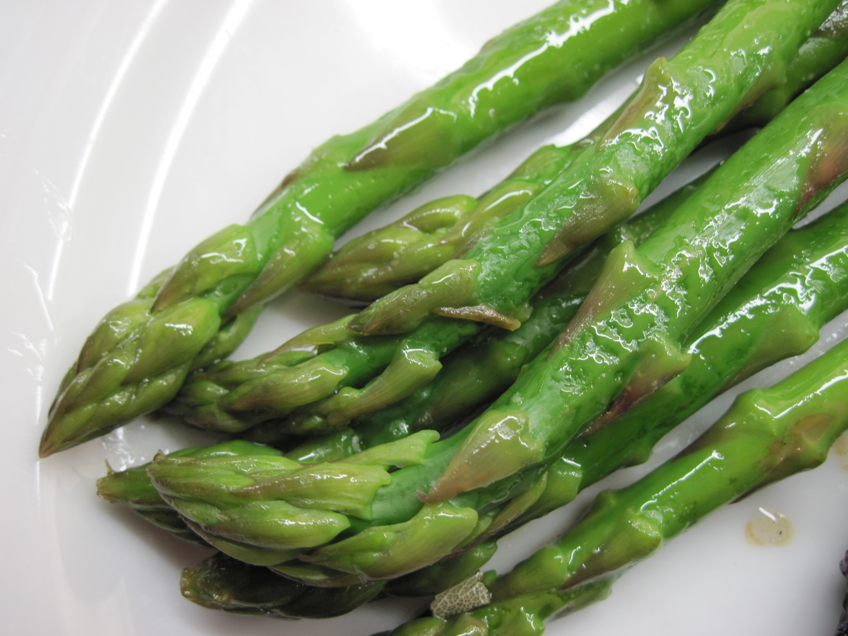 Asparagus with Sage Butter