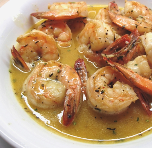 Barbecue Shrimp for Mardi Gras