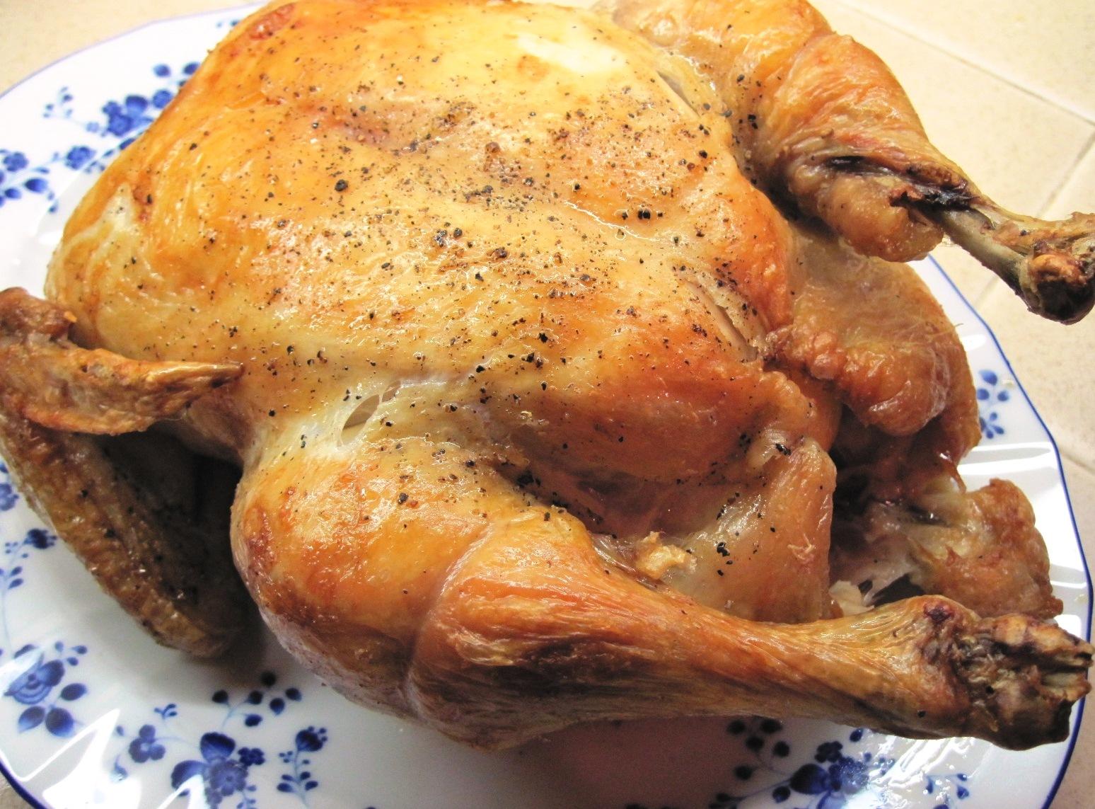 Roast Chicken, Italian Style