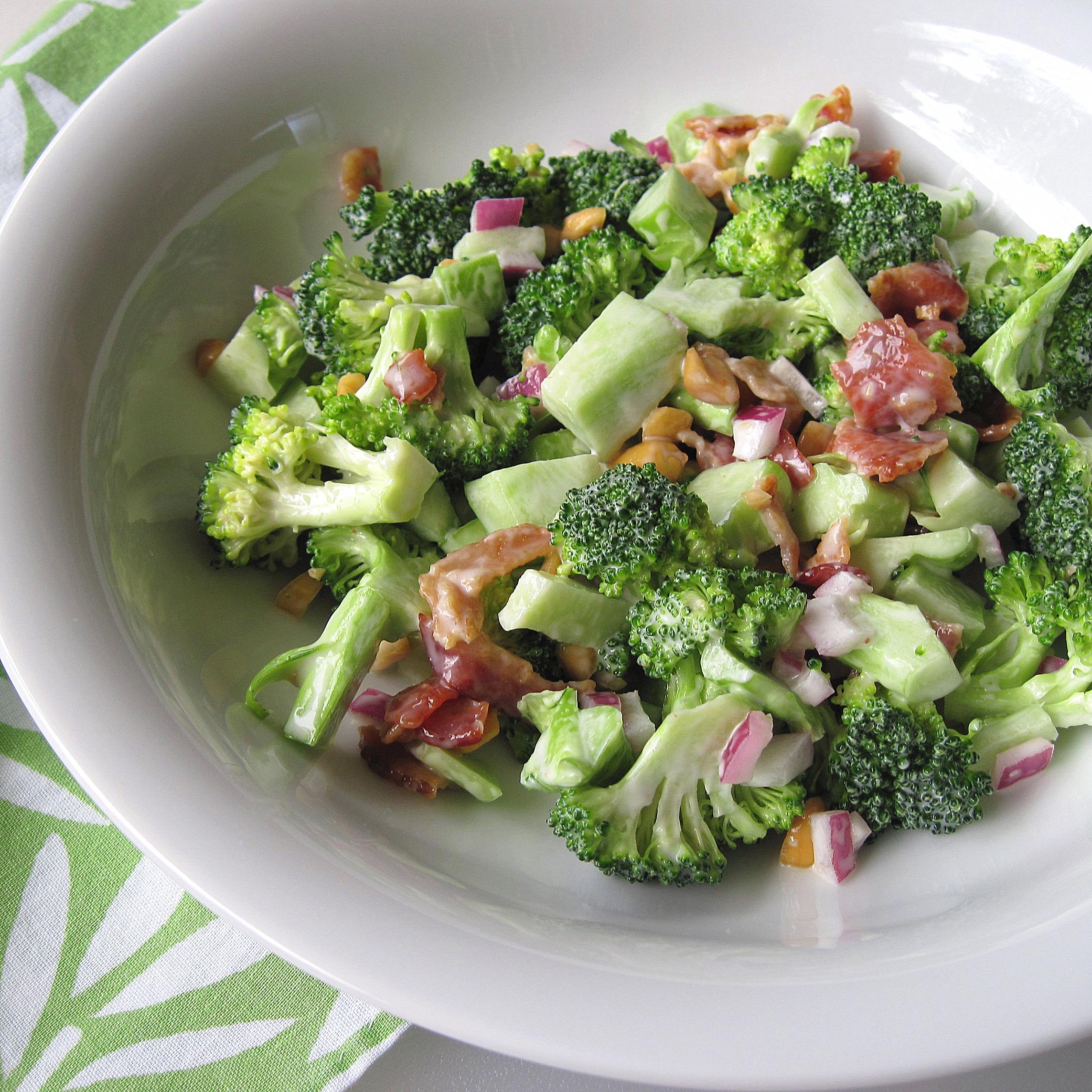 broccoli salad 6 picniked