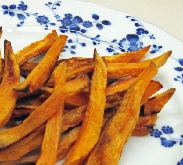 oven fried sweet potato fries
