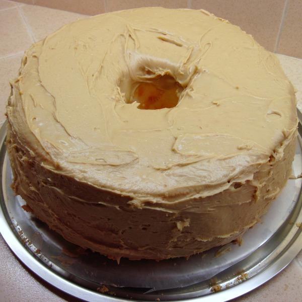 Penuche Frosting Cake