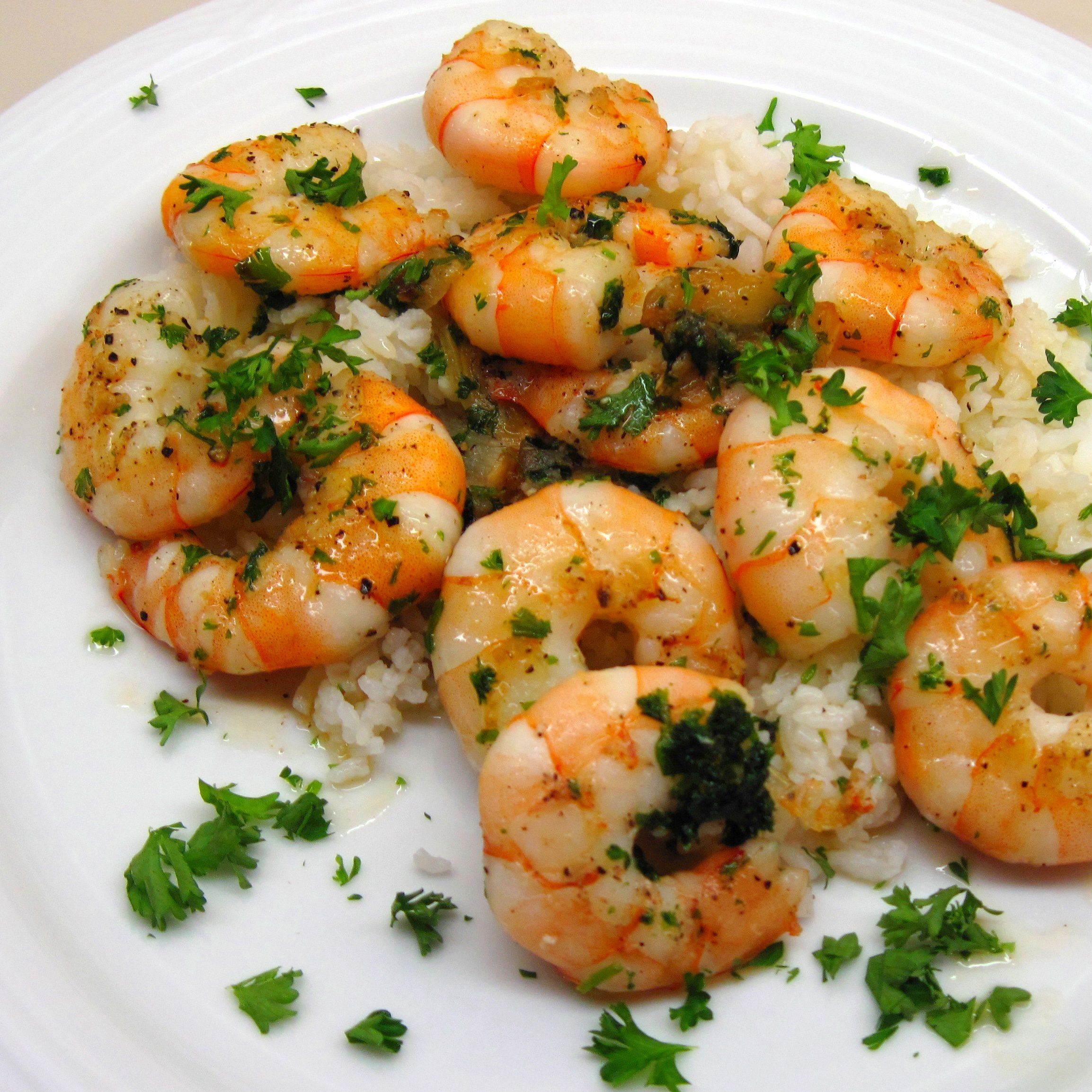 Kitchen Musings: Shrimp Scampi
