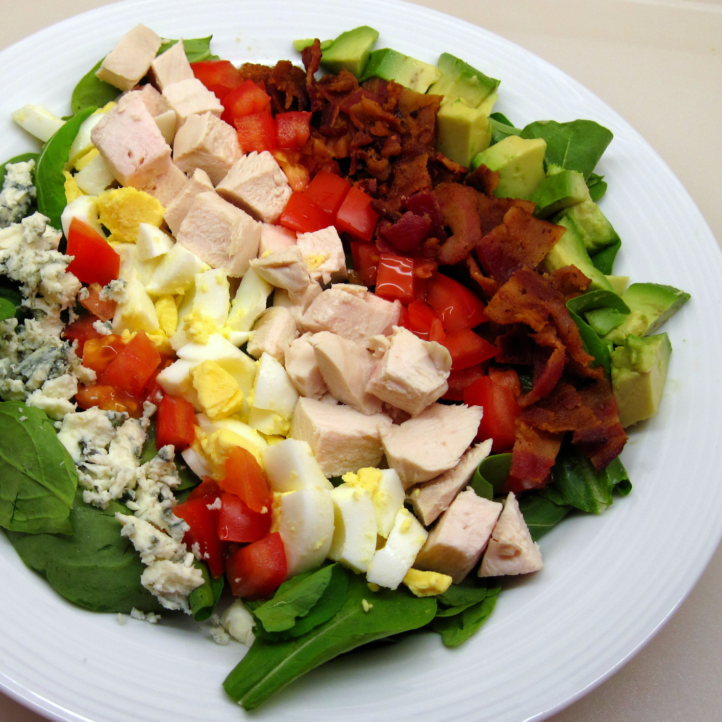 Classic Cobb Salad Recipe — Dishmaps