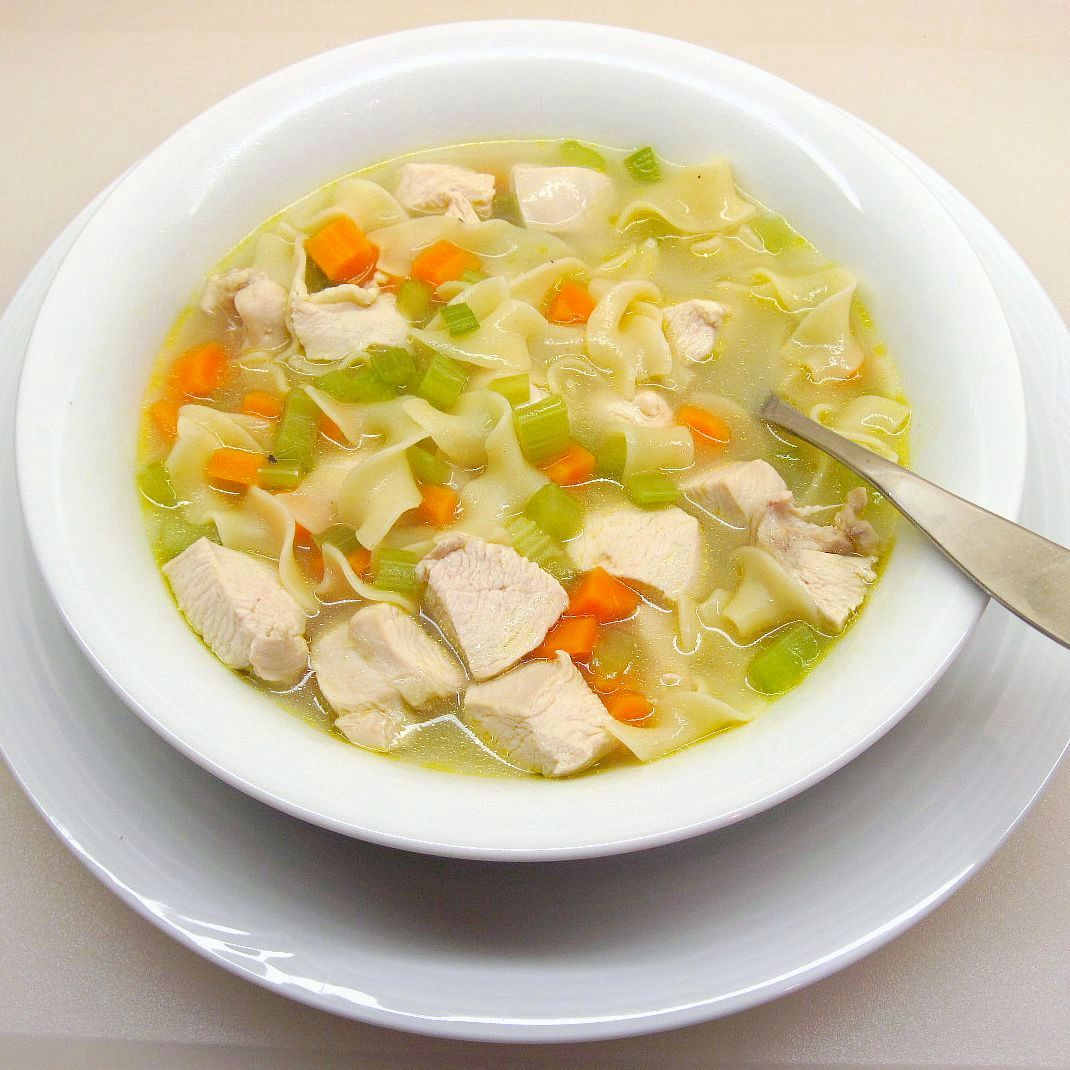 ... to-follow Food Network Chicken Noodle Soup recipe from Tyler Florence