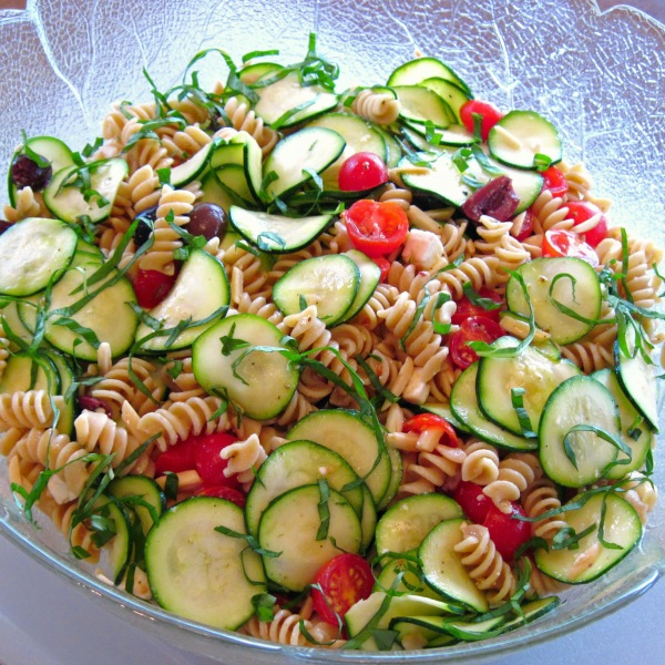 Zucchini and Pasta Salad 2014