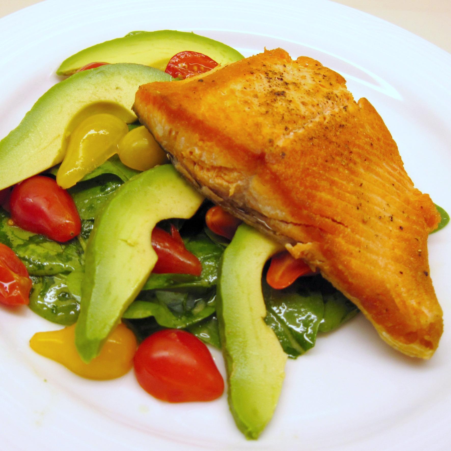 pan roasted sockeye salmon 2