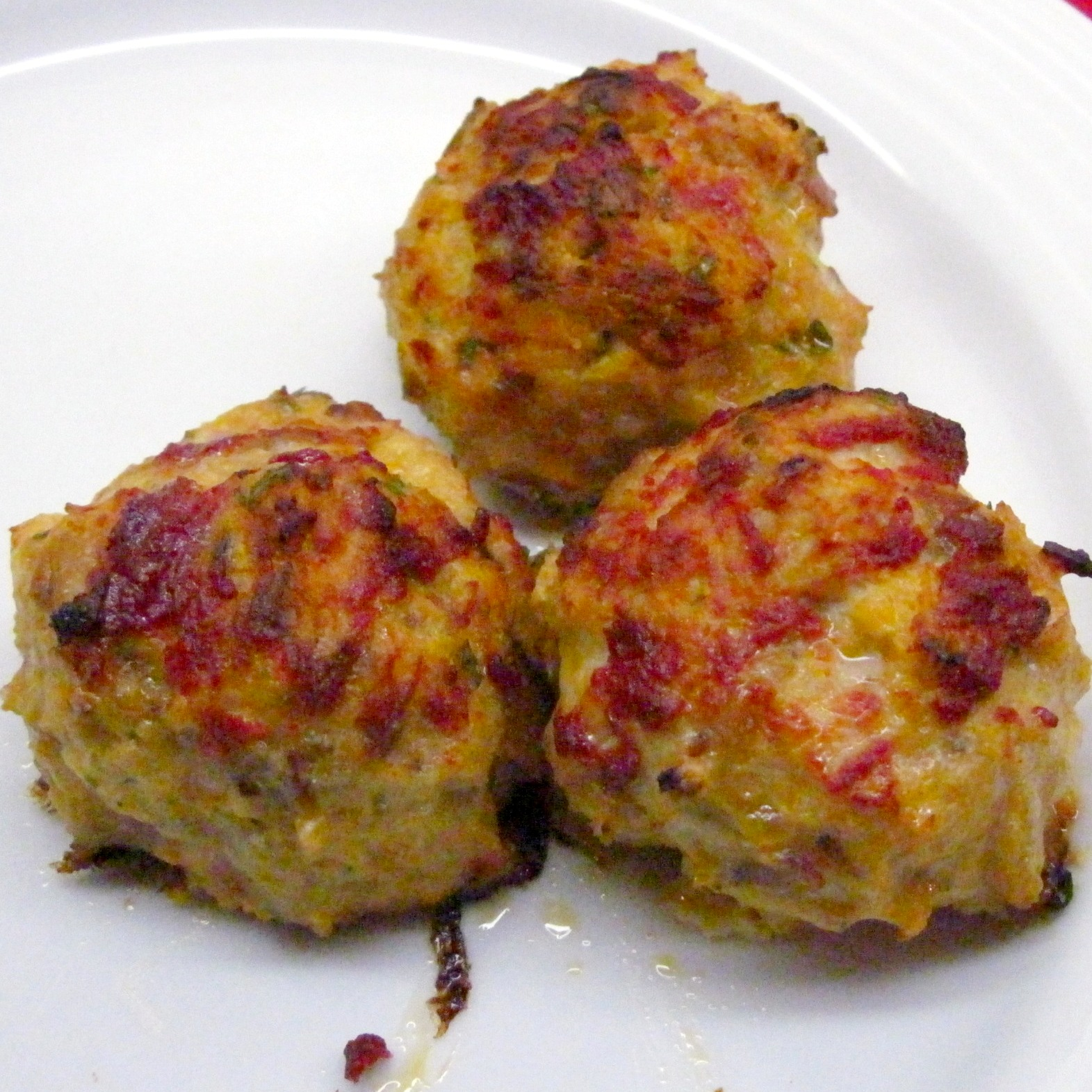 chicken meatballs almost ethereal chicken meatballs cheesy chicken ...