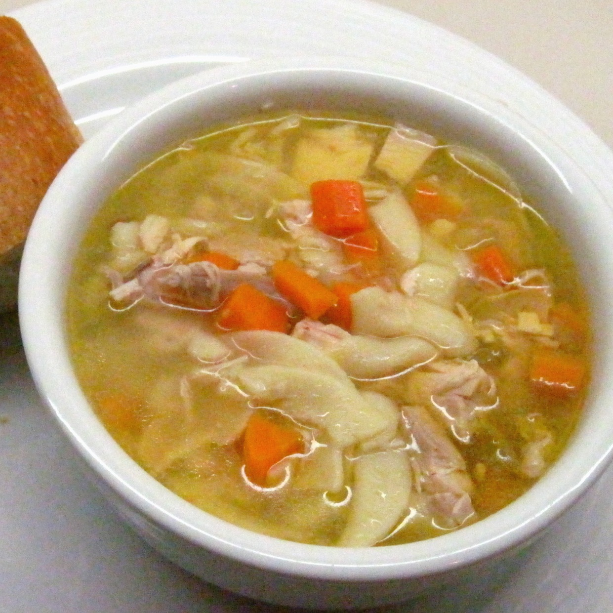 My Ultimate Chicken Noodle Soup