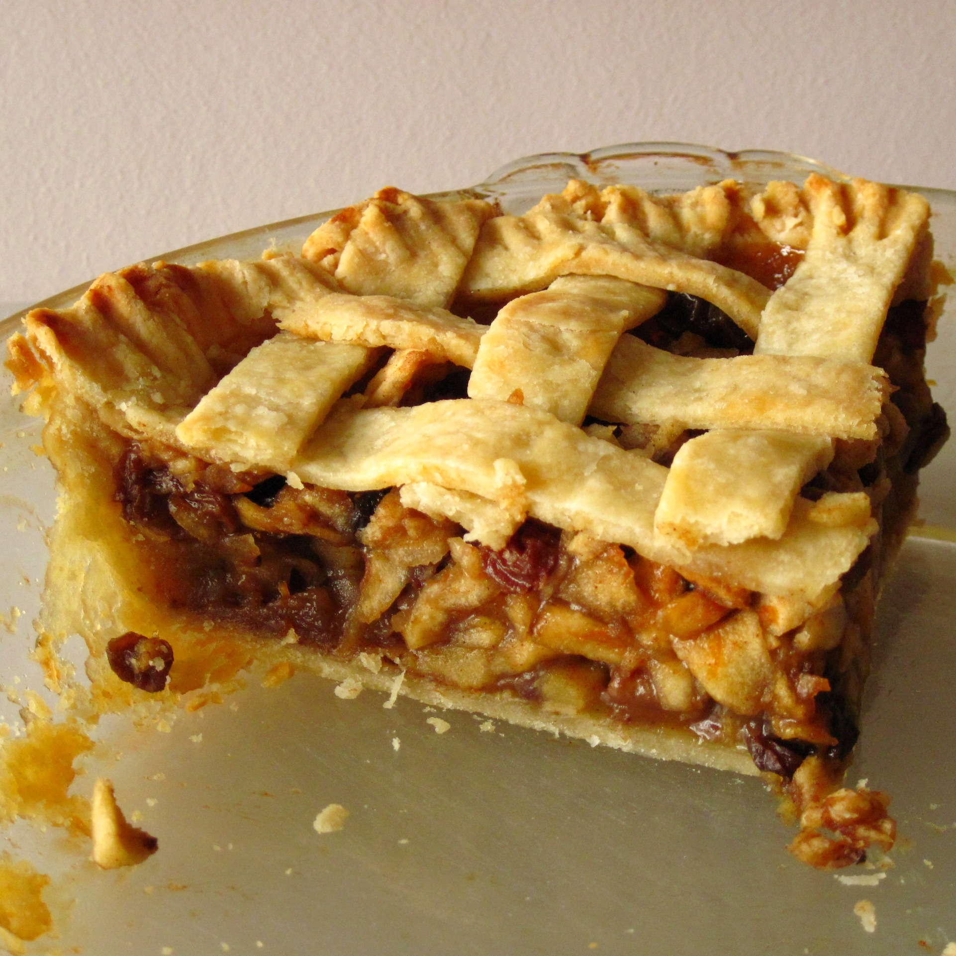 This is the Mock Mincemeat Pie that I came up with, and the mincemeat ...