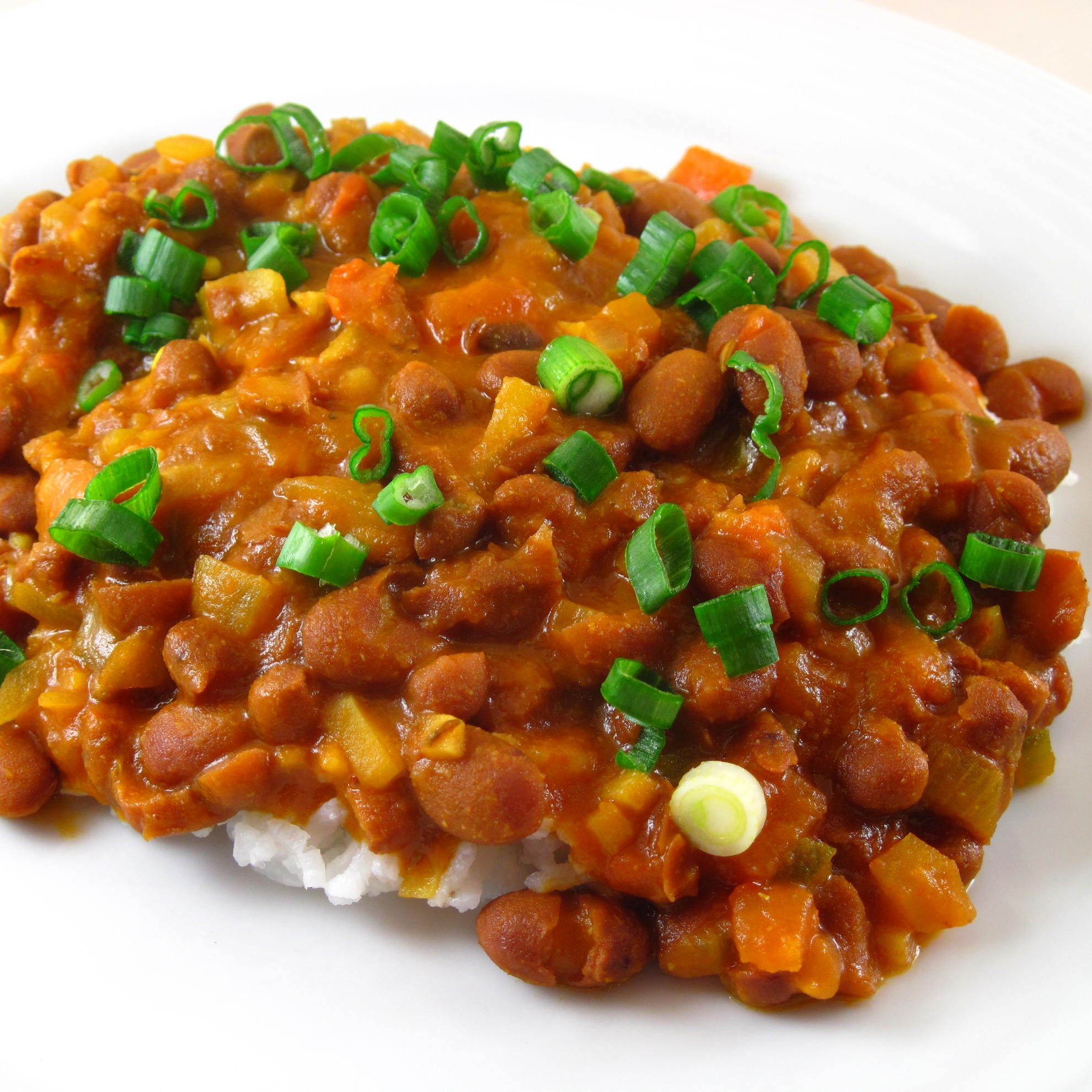 Curry Kidney Beans Recipe Red Kidney Bean Curry From