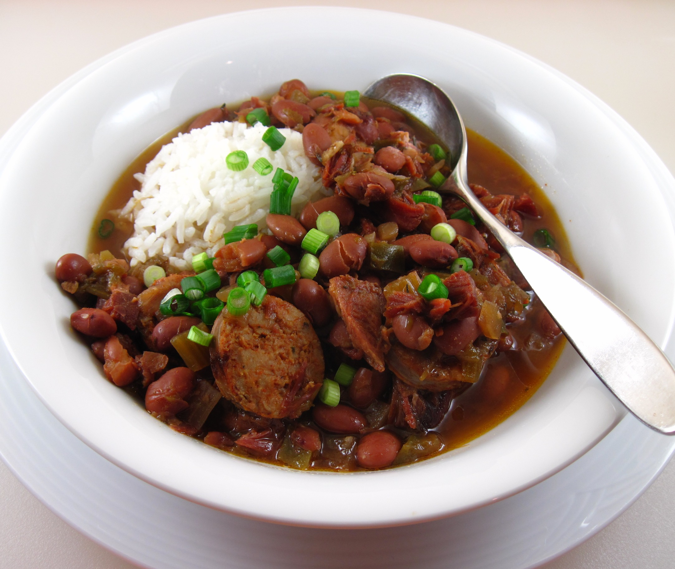 Slow Cooker Red Beans and Rice | In the kitchen with Kath