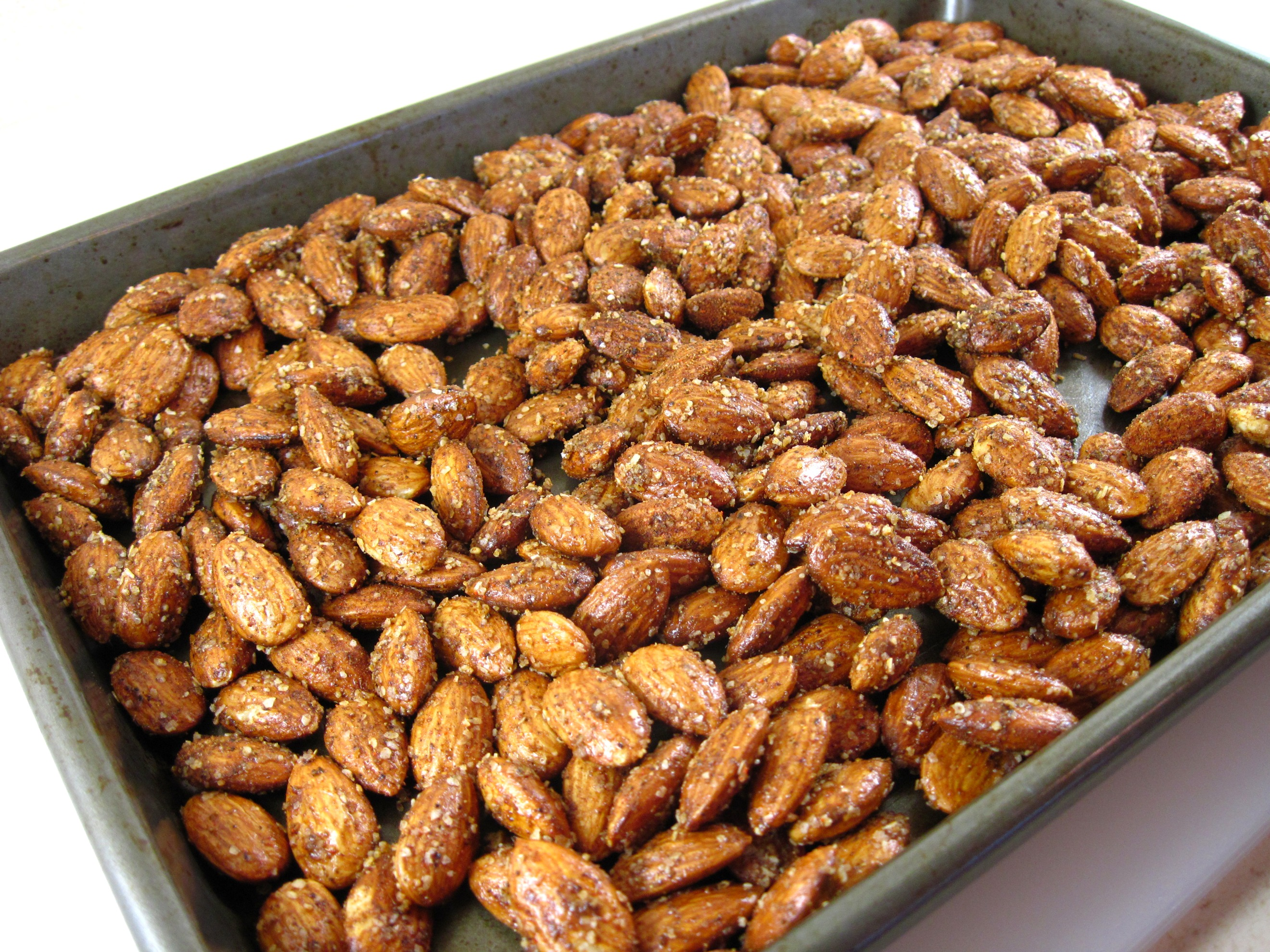 vij s spiced roasted almonds or cashews in the kitchen with kath