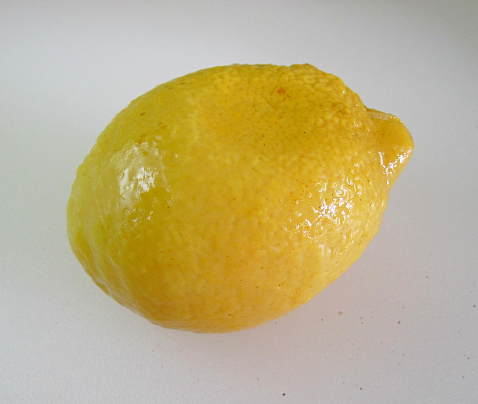 Preserved Lemon Cake