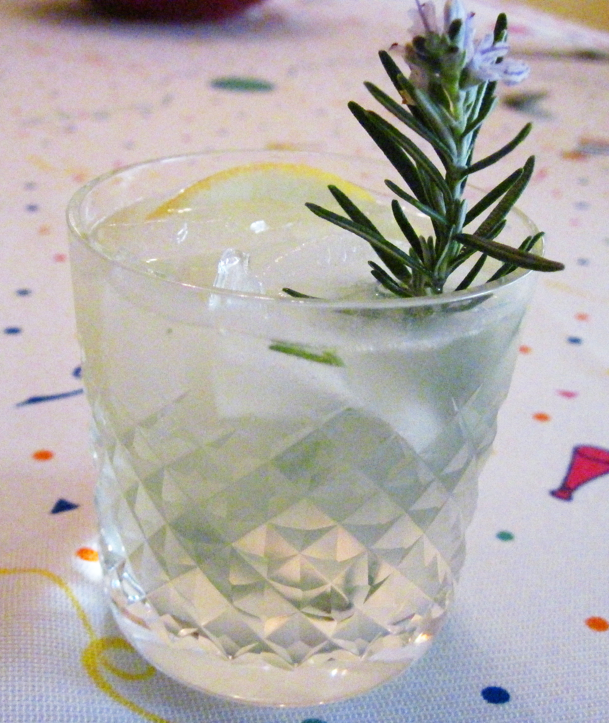 Rosemary Gin Fizz | In the kitchen with Kath