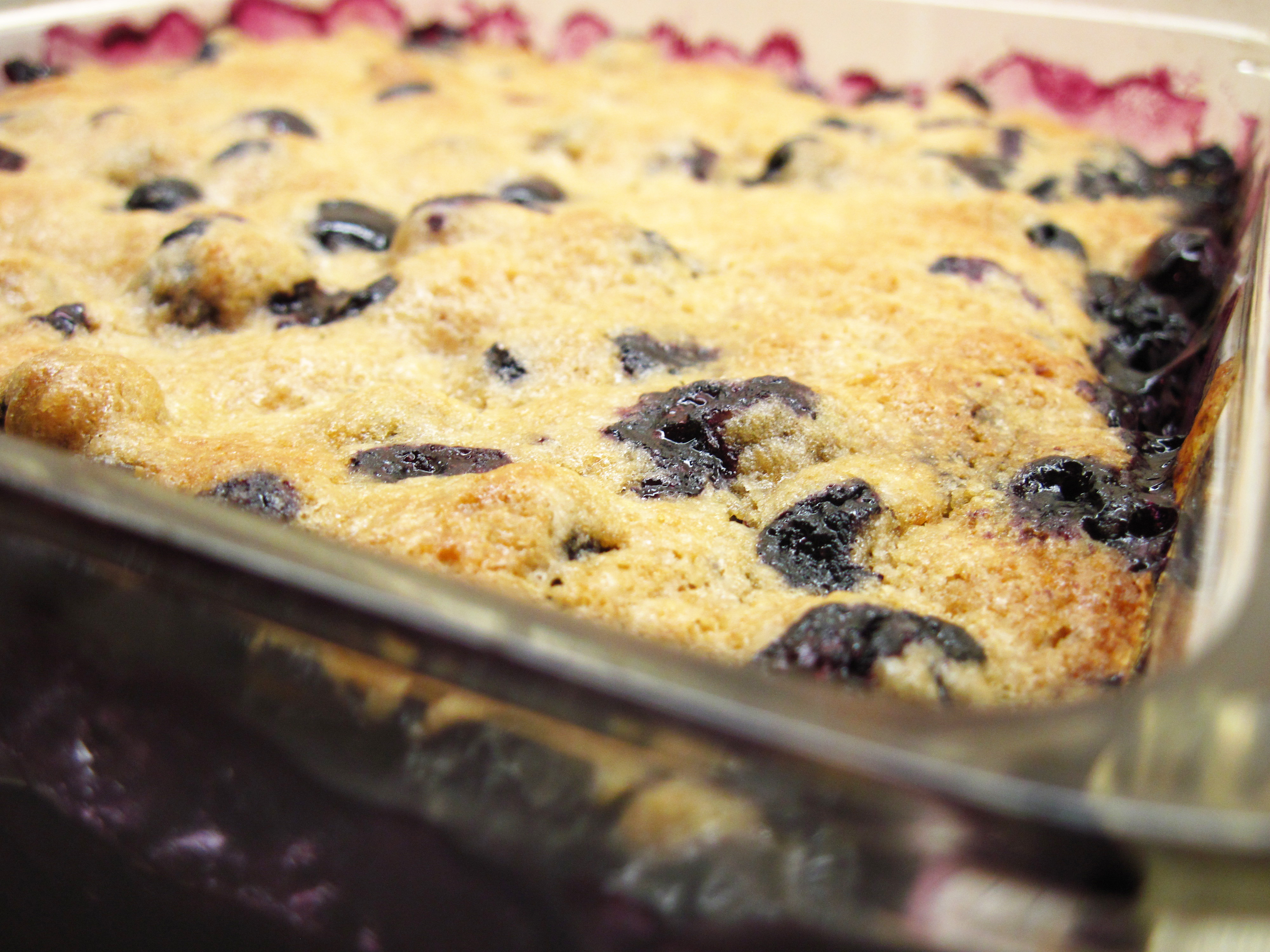 Blueberry Cobbler Recipe blueberry cobbler in the kitchen with kath