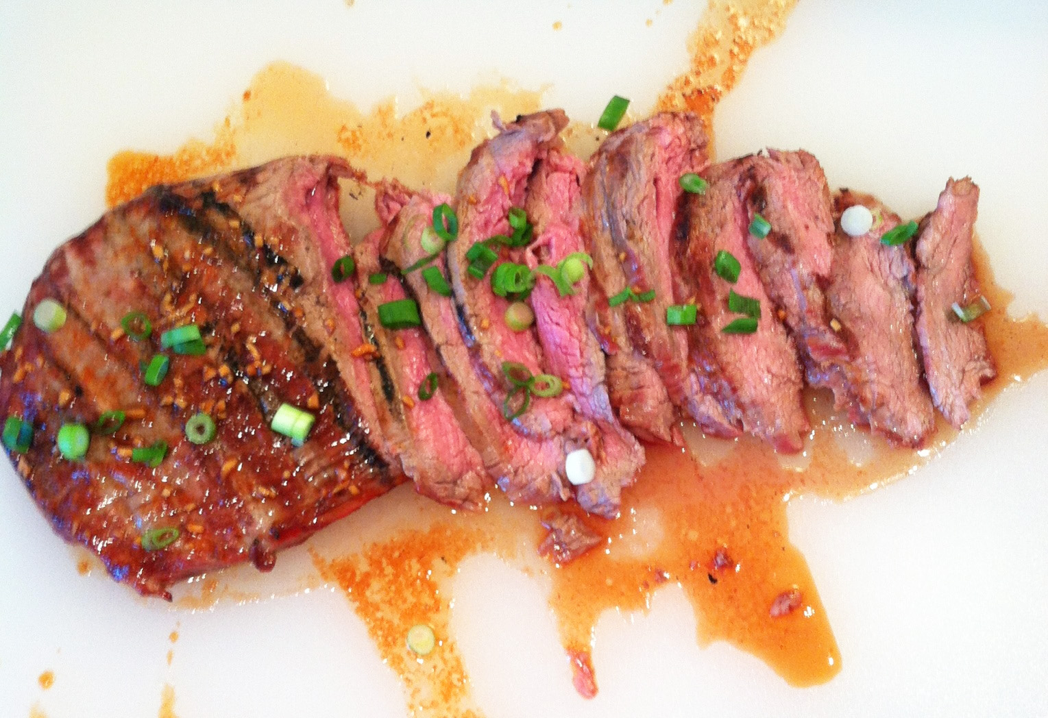 Korean-Style Grilled Flank Steak | In the kitchen with Kath