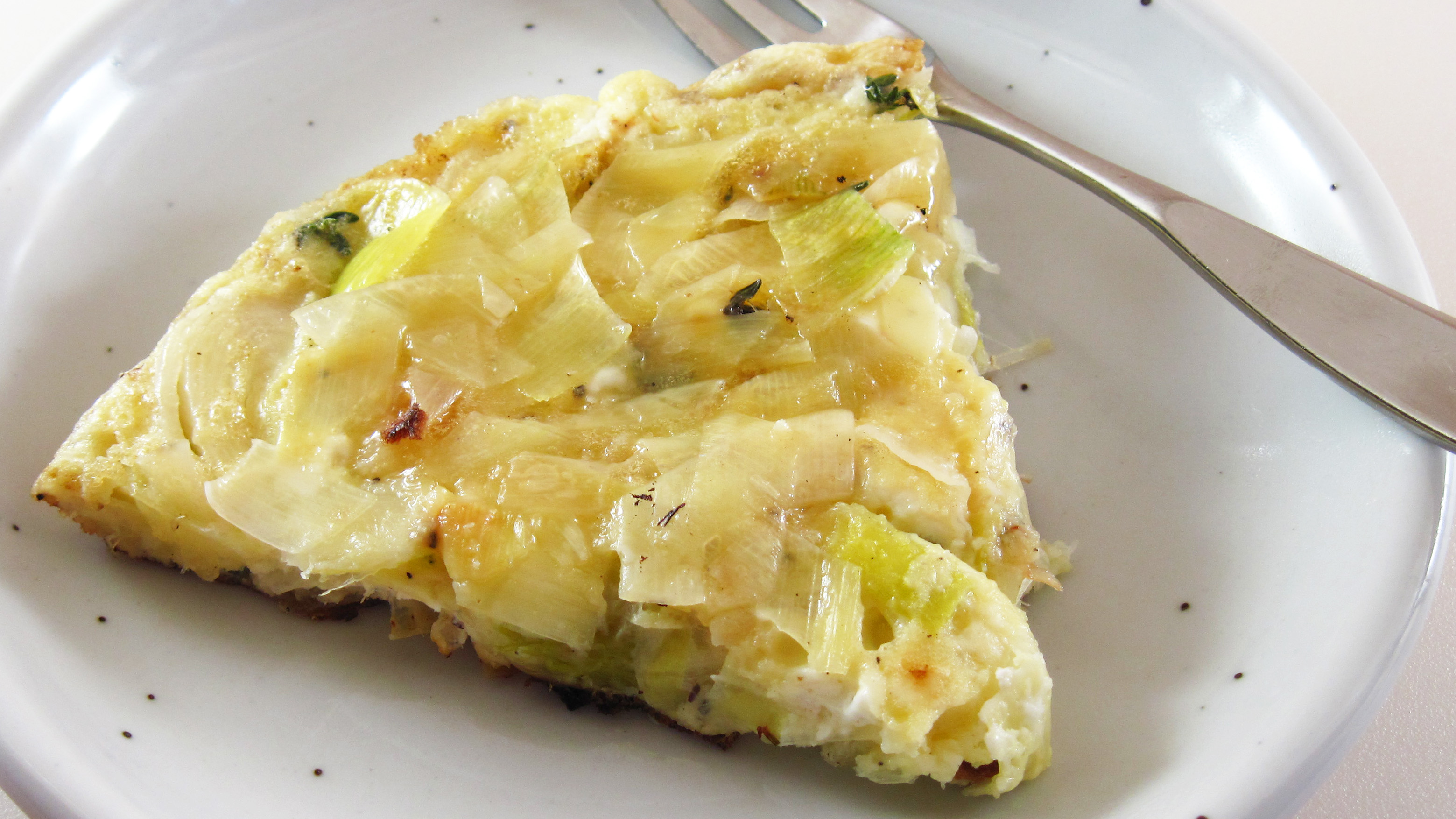... goat leek and goat cheese frittata leek goat s cheese walnut lemon