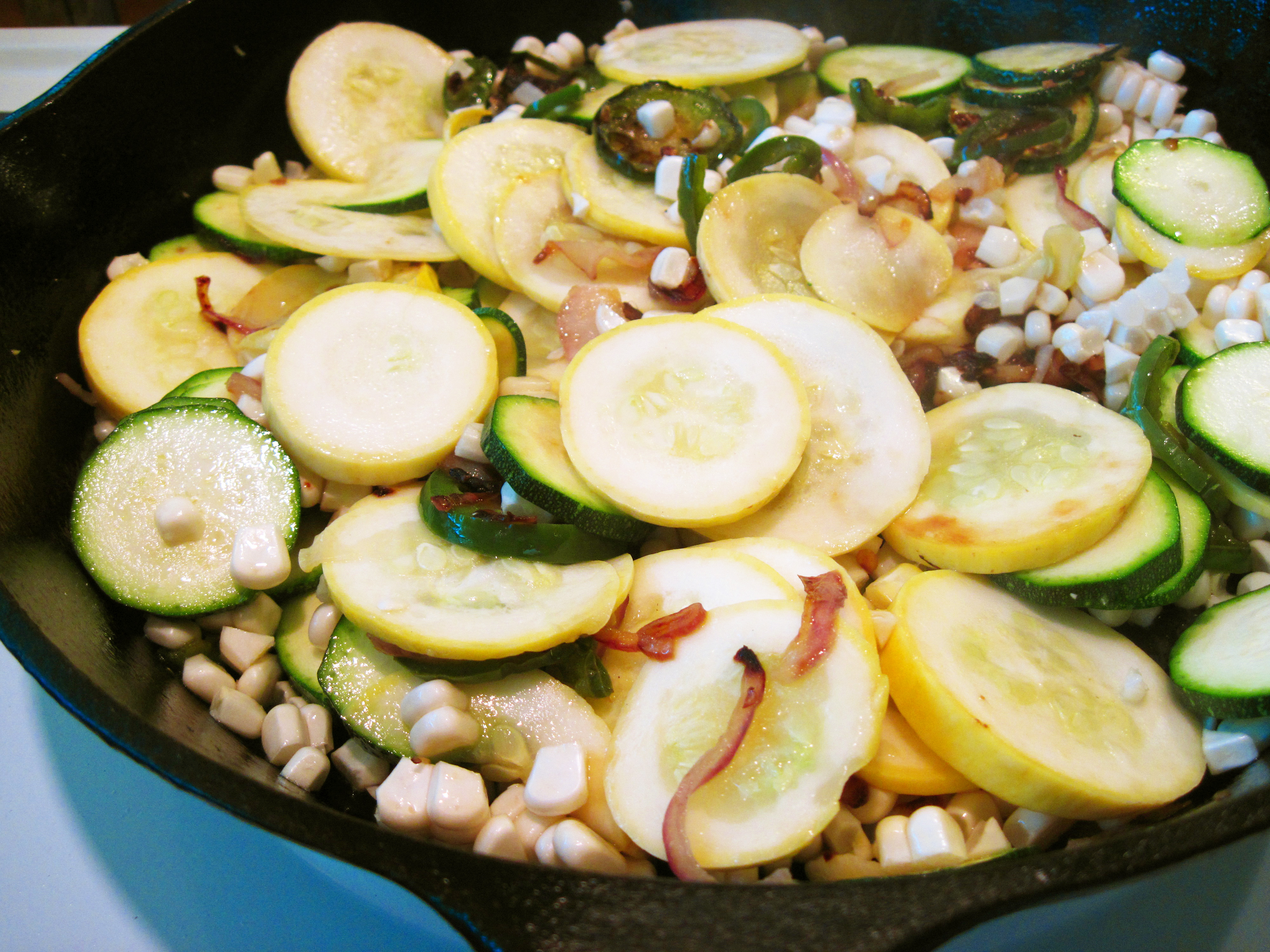 Spicy Zucchini Frittata   In the kitchen with Kath