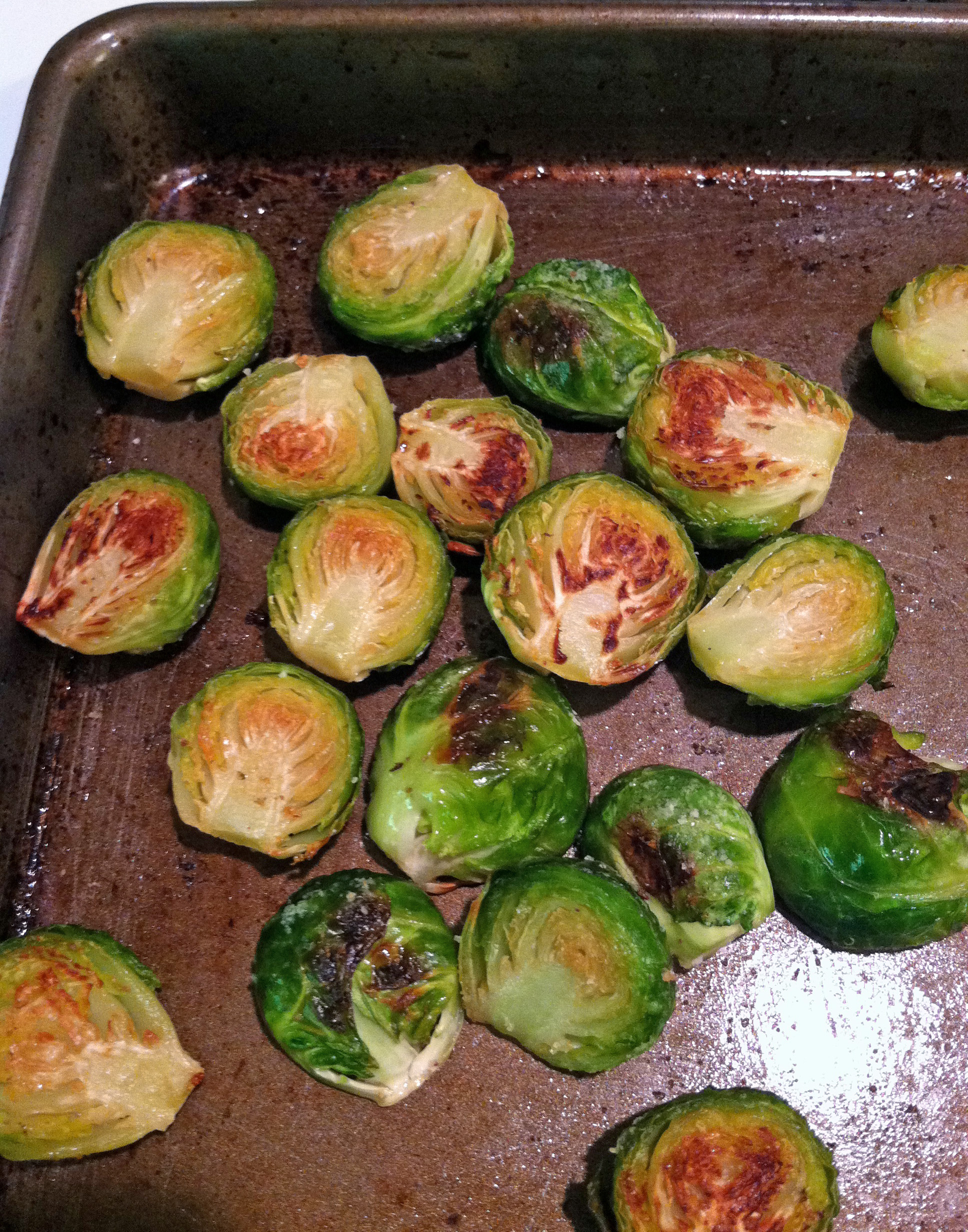 Simple Roasted Brussels Sprouts | In the kitchen with Kath