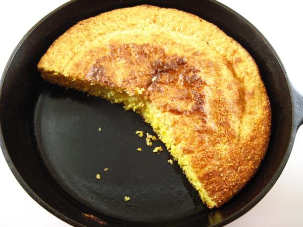 Corn Bread In Round Cake Pan