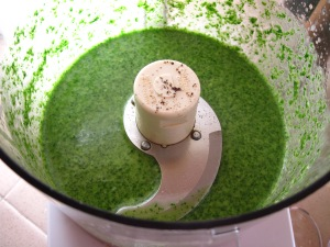 Watercress dressing