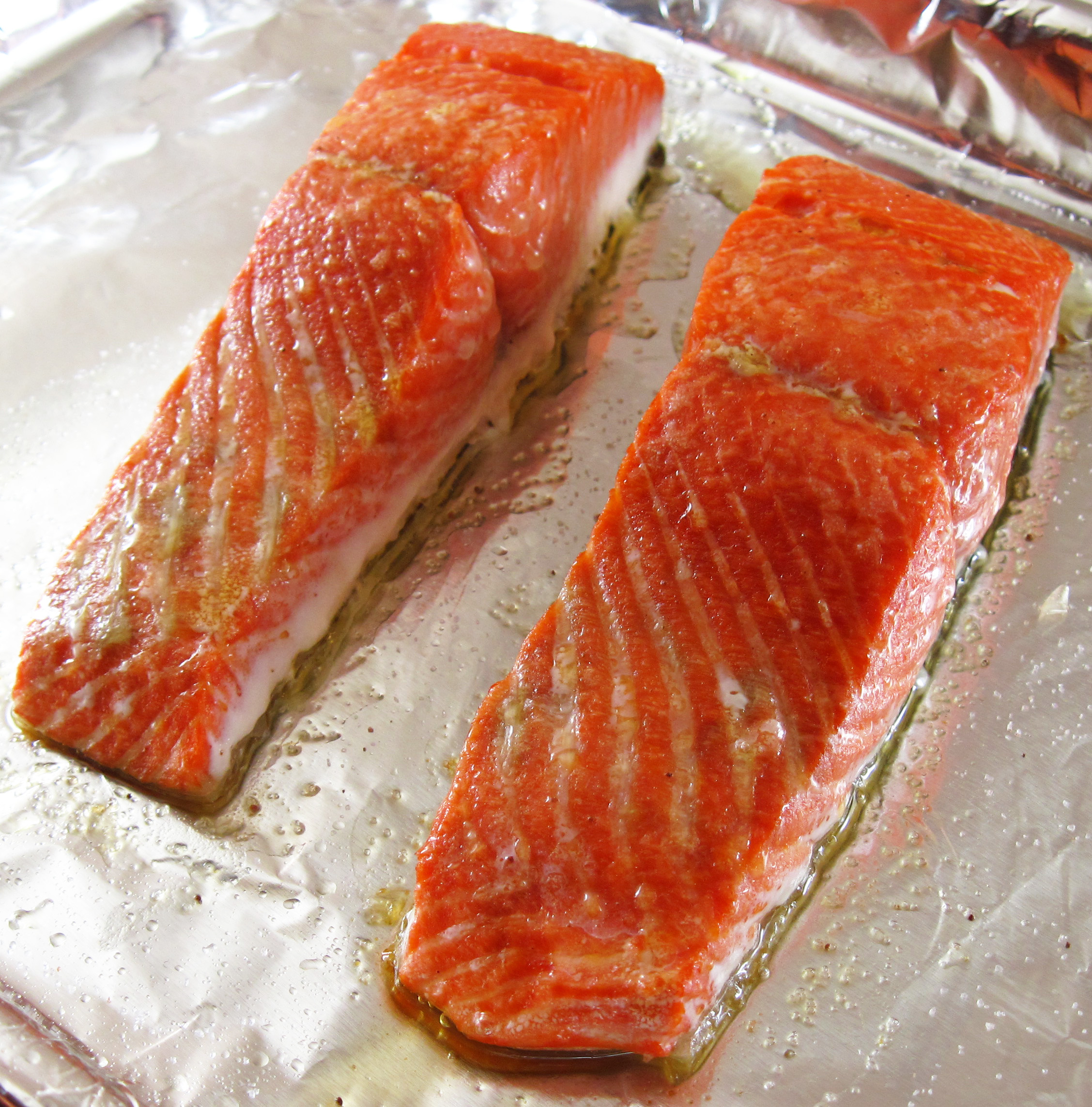 Easy Roast Salmon Fillets In The Kitchen With Kath