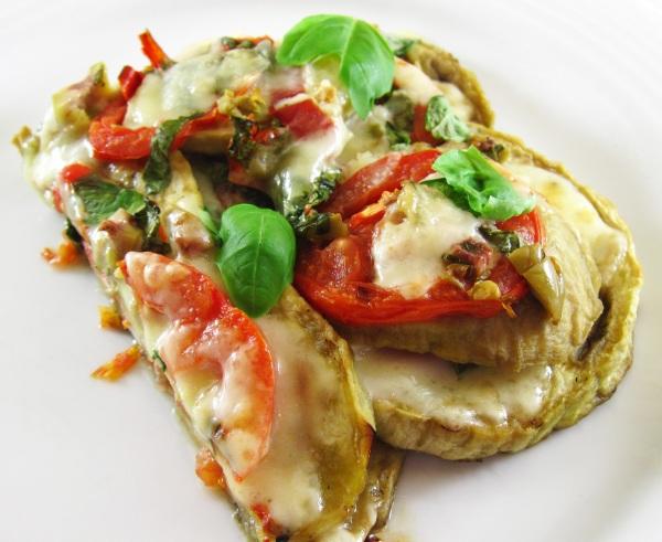 Grilled Eggplant Parmesan 2