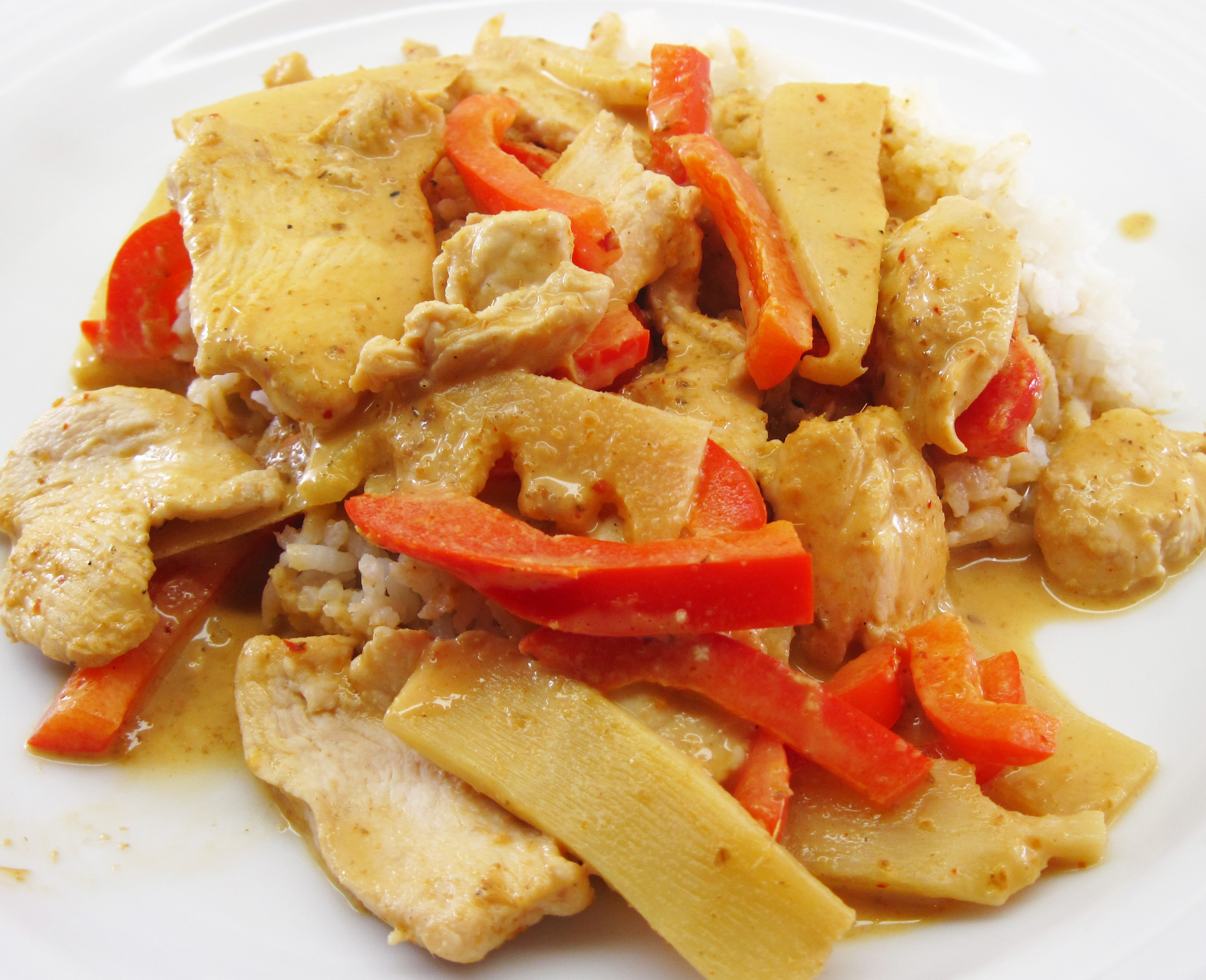 Thai Panang Curry with Chicken (Panang Gai)