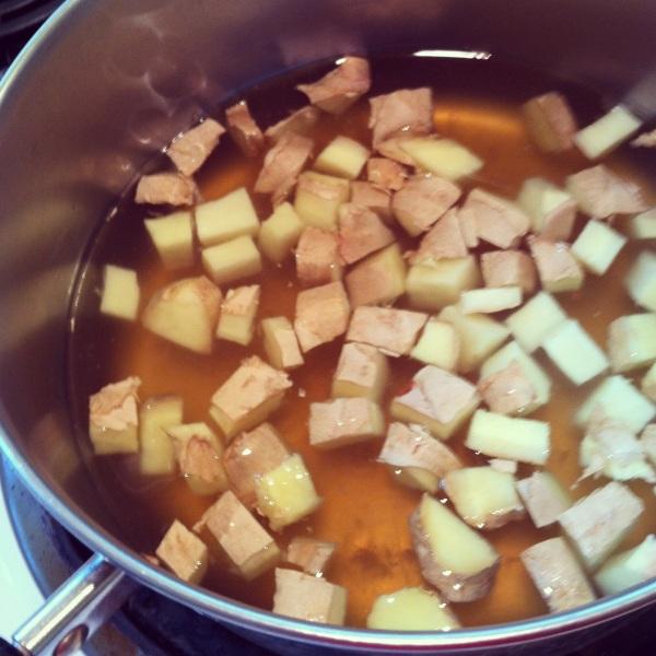 simmering ginger
