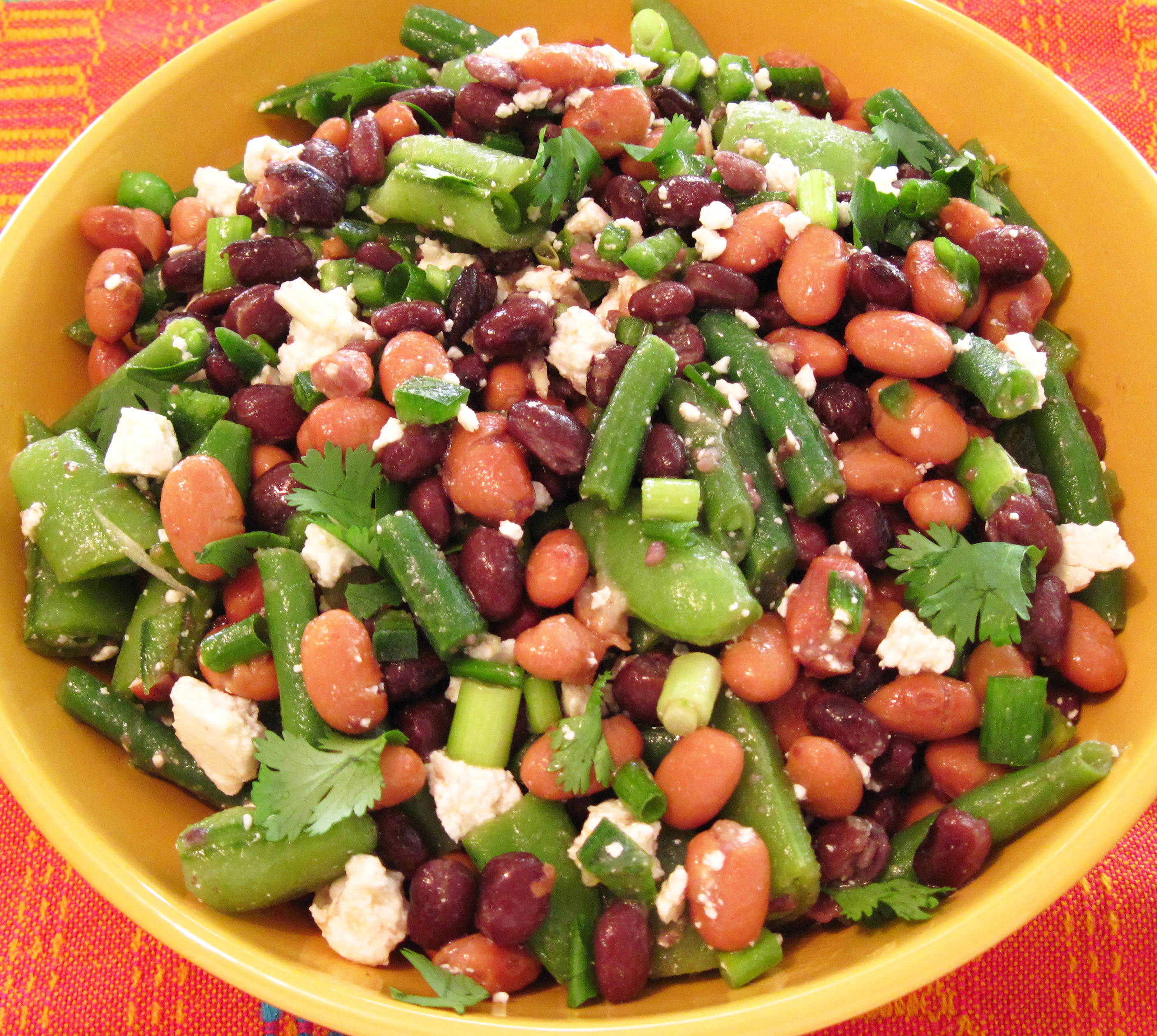 Mexican Three Bean Salad Recipes — Dishmaps