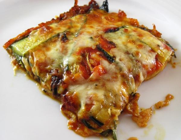 Roasted Zucchini Torta