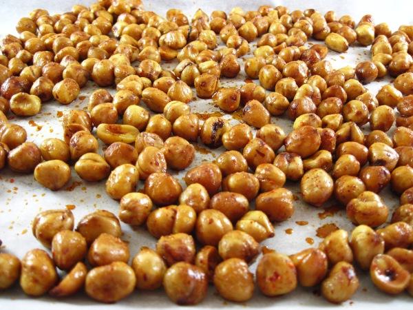 Spiced Roasted Hazelnuts