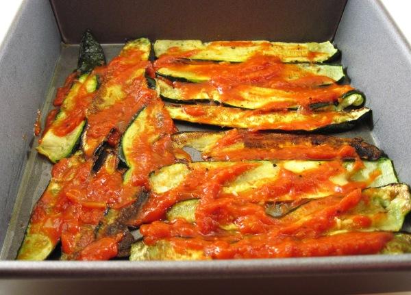 Spread with marinara