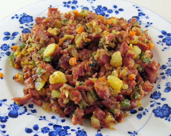 Corned Beef Hash with Yukon Gold Potatoes | In the kitchen with Kath