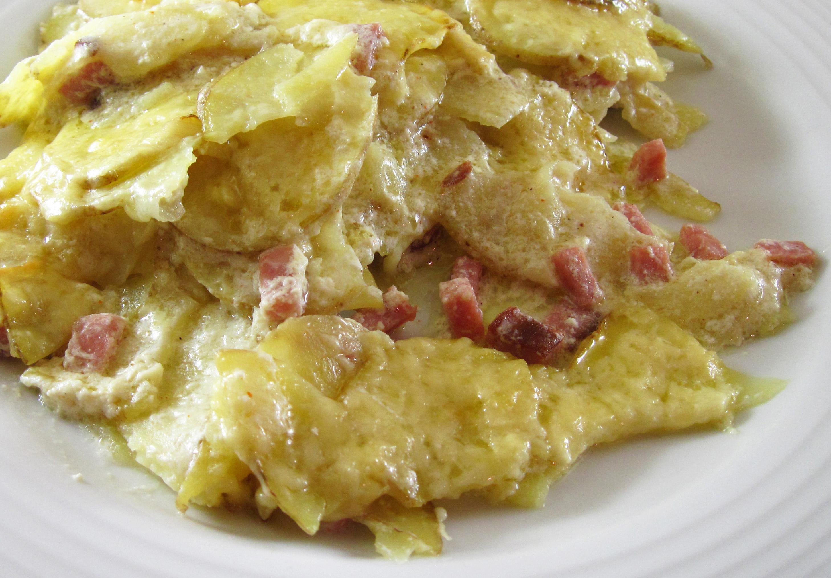 Creamy Yukon Gold Potato Gratin | In the kitchen with Kath