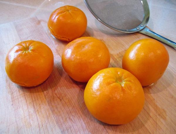 Oranges cooling