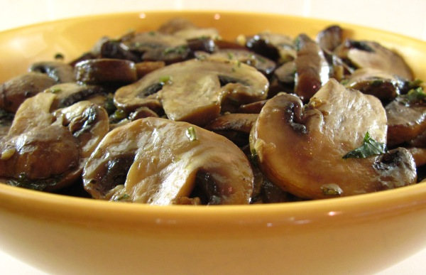 Another view of Roasted Mushrooms