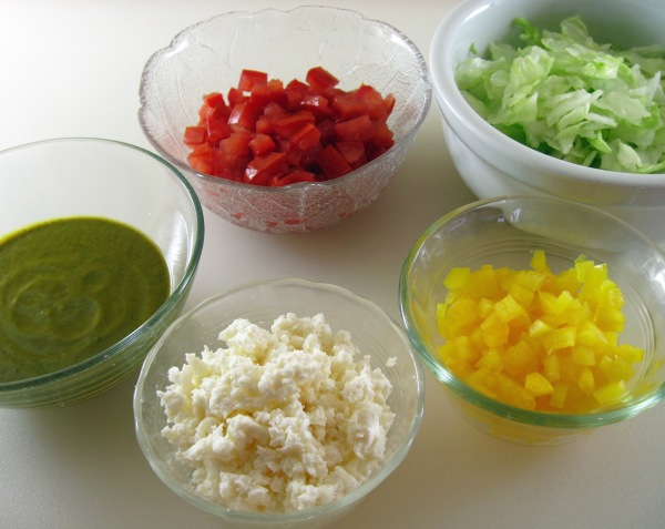 Taco toppings