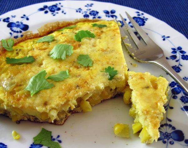 Corn Frittata
