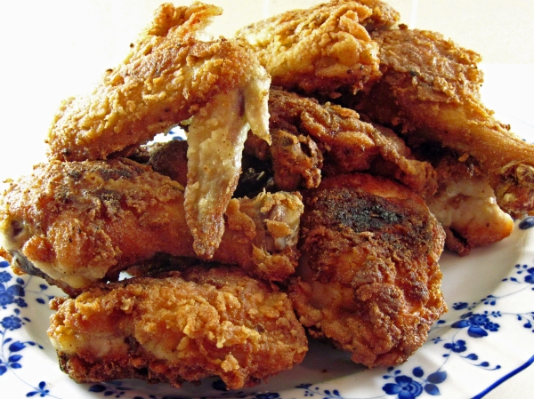 Gluten Free Southern Fried Chicken closer