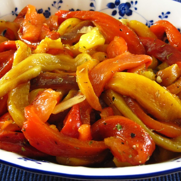 Roasted Bell Peppers, too