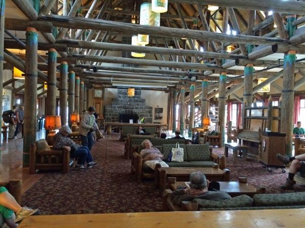 Inside Paradise Inn