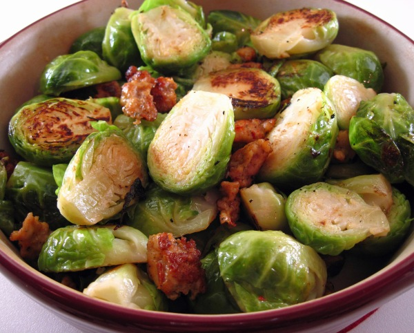 Brussels Sprouts with Sausage