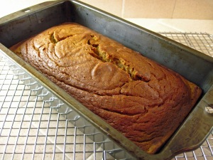 Maple Sweetened Pumpkin Bread