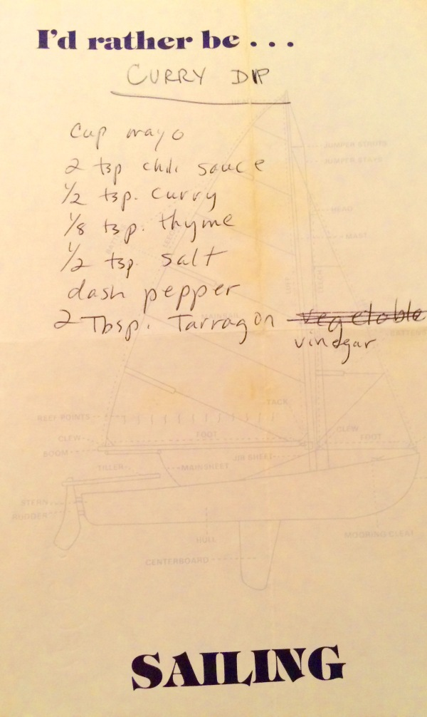 Recipe for Curry Dip