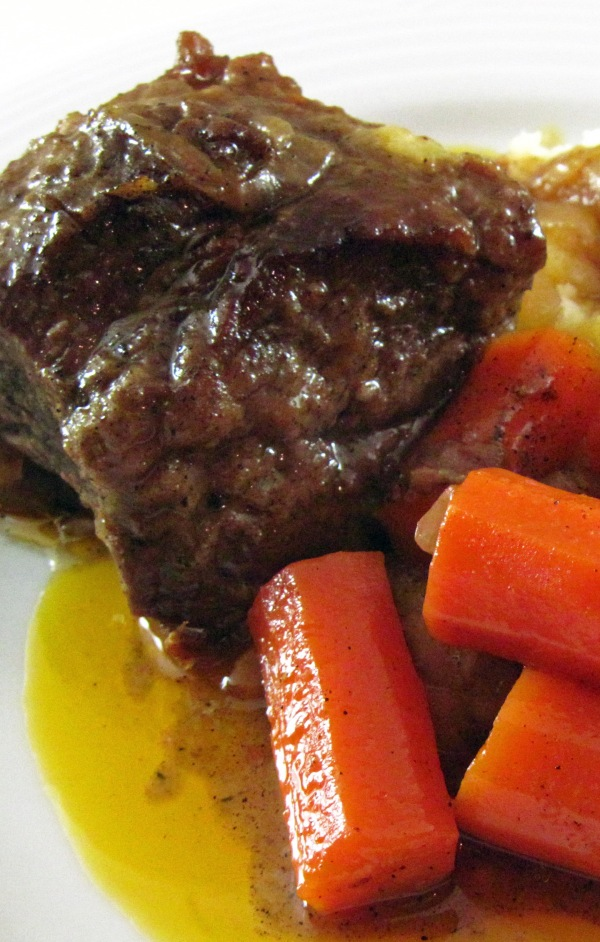 Braised Beef Short Ribs tall