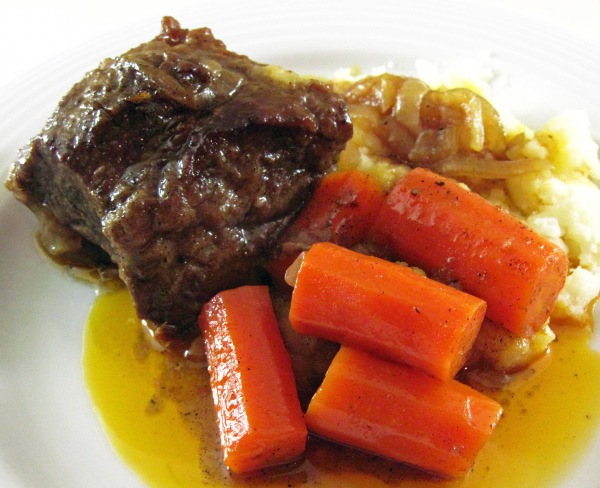 Braised Beef Short Ribs with Caramelized Onions & Baharat