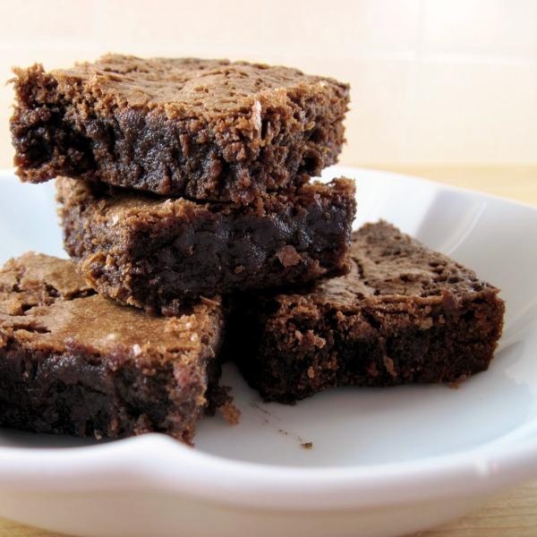Katharine Hepburn's Brownies - square