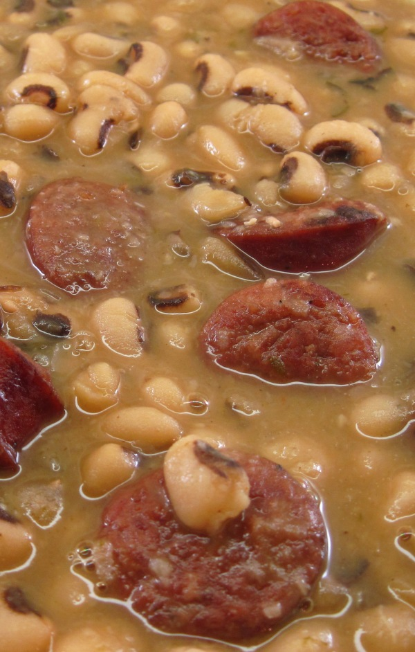 Smoked Sausage and Black-Eyed Peas 3